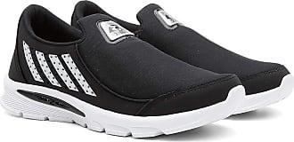 Zeus Tênis Esportivo Masculino Caminhada Conforto Macio Leve Branco/preto 43