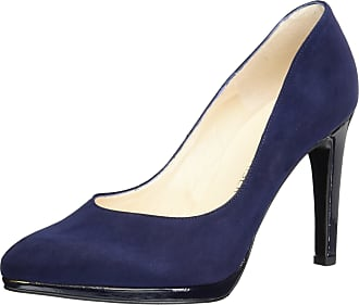 e8c18cfcad3a2 Peter Kaiser Womens Herdi Closed Toe Heels, Blue (Notte Suede Crakle 732),