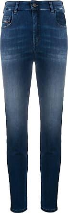 Diesel slim stonewashed jeans - Azul