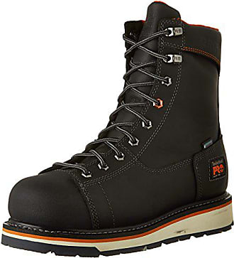 Timberland PRO Mens CSA Gridworks 8-Inch Work Boot, Black, 8 W US