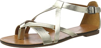 Vagabond Womens Tia Flip Flops, (Gold 81), 3.5 UK