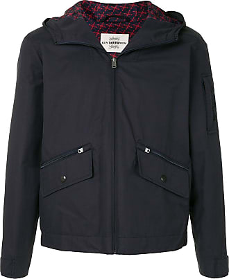 Kent & Curwen short hooded jacket - Black