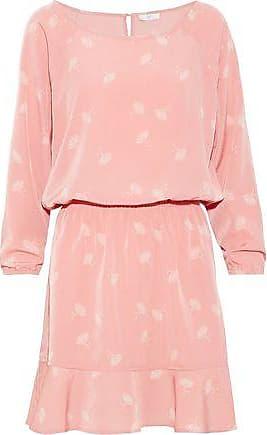 Joie Joie Woman Arryn B Printed Voile Mini Dress Antique Rose Size L