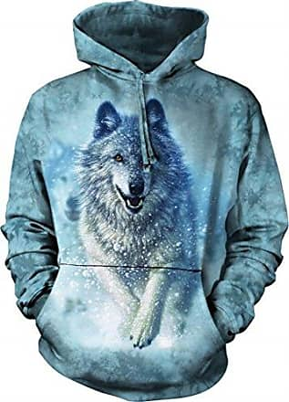 The Mountain Snow Plow Hsw Adult Hoodie, Blue, Small
