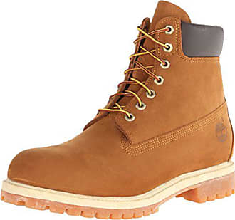 Timberland Mens 6 inch Premium Waterproof Boot, Rust Nubuck, 8.5 D - Medium