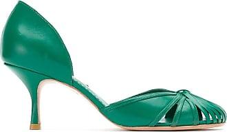 Sarah Chofakian Scarpin Sarah de couro - Verde
