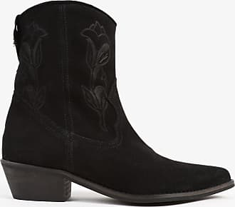 Scalpers Suede Leather Cowboy Boots