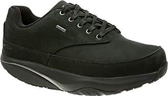 a6fbfd62ced621 Mbt Herren 70260103Tnero Schwarz Leder Sneakers
