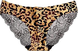 Abetteric Calcinha feminina Abetteric de renda macia, sem aro, de algodão, cintura baixa, pacote com 3, Pattern16, US X-S=China S