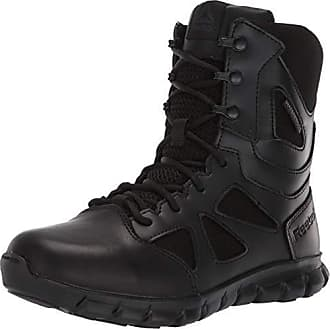 e2f58f1869402b Reebok Womens Sublite Cushion Tactical RB806 Military   Tactical Boot Black  9.5 ...