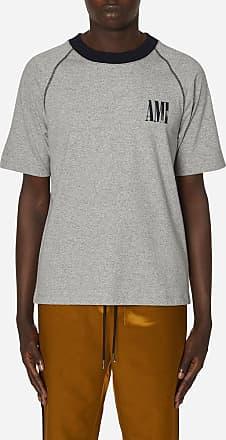 Ami Ami paris Bicolor t-shirt CHINE/NAVY S