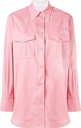 Calvin Klein patch pocket shirt - Pink