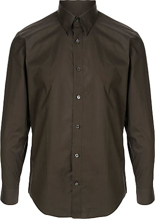Cerruti fitted long sleeve shirt - Green