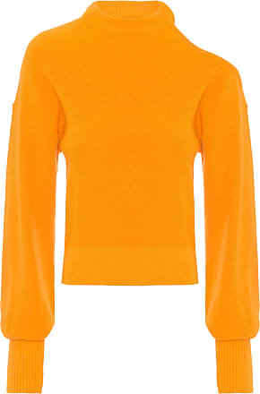 N.Y.B.D. Blusa Tricot Decote Ombro - Amarelo