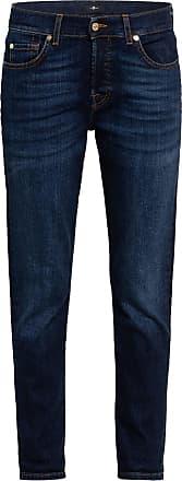 7 For All Mankind 7/8-Boyfriend Jeans ASHER - SOHO DARK DARK BLUE