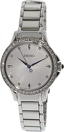Seiko Womens SRZ485 Silver Stainless-Steel Japanese Quartz Fashion Watch