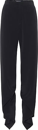 Y / Project Ruffled high-rise straight pants