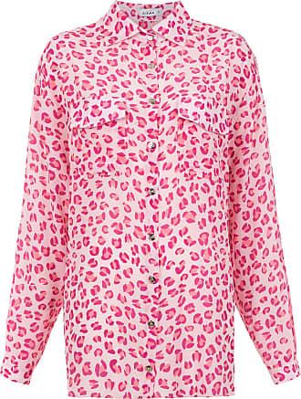 Amir Slama jaguar silk shirt - PINK