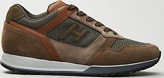 Reposi Calzature Hogan - H321 - Sneakers in suede blu dettagli rossi