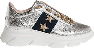 Stokton sneaker con bande laterali Up, 36 / argento