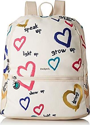 8ed293757ba Desigual Bag Natural Message Novara Women