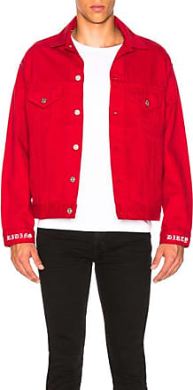 Adaptation Jean Jacket in Red