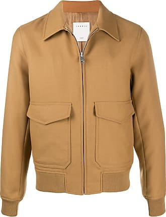 Sandro zipped bomber jacket - NEUTRALS