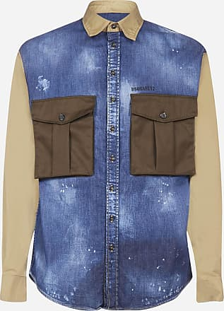 Dsquared2 Denim and cotton shirt - DSQUARED2 - man
