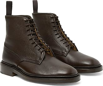 Trickers Anniversary Edition Cruiser Tramping Leather Boots - Dark brown