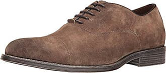 Rush by Gordon Rush Mens Rowling Oxford, Taupe Suede, 10.5 M US