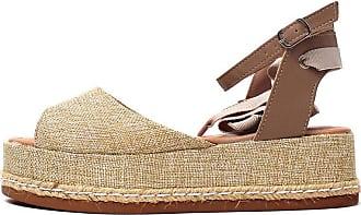 Damannu Shoes Sandália Juta Hannah - Cor: Bege - Tamanho: 34