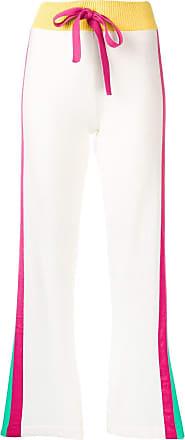 Escada Sport Calça esportiva com amarração - Branco