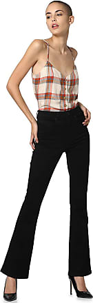 Only Womens Onlroyal High Sweet Flared 600 Noos Jeans, Black (Black Black), 34 /L32 (Size: X-Small)