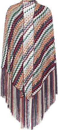 Missoni Fringed wool-blend shawl