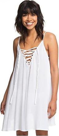 fae3fc36485 Roxy Softly Love - Robe à bretelles pour Femme - Blanc - Roxy