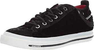 767ae496f9 Diesel Womens Magnete Exposure IV Low W-Sneakers, Black, 4 UK