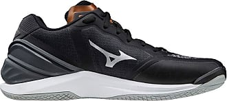 Mizuno Unisex Adults Stealth Neo Handball Shoe, White/Safety Yellow/199c, 11.5 UK