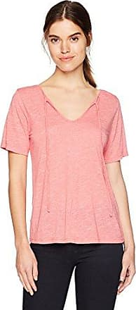 Michael Stars Womens Gingham Gauze Front-to-Back Blouse