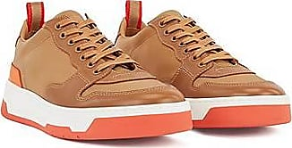 BOSS Low-top trainers with coordinating heel and sole
