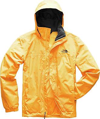 9aeb5338 The North Face Mens Resolve 2 Jacket, TNF Yellow/Asphalt Grey, XX-