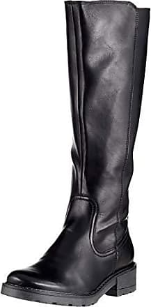 afc93337 Jenny 2263111 - Botas Altas de Sintético Mujer, Color Negro, Talla 39 EU