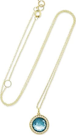 Ippolita Lollipop Mini 18-karat Gold, Topaz And Diamond Necklace