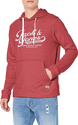 Jack /& Jones Essentials Hoodie Melange Sweatshirt Hooded Jumper Mens JJEPanther