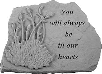 Kay Berry In Our Hearts Memorial Stone - Lavender Design - 07024