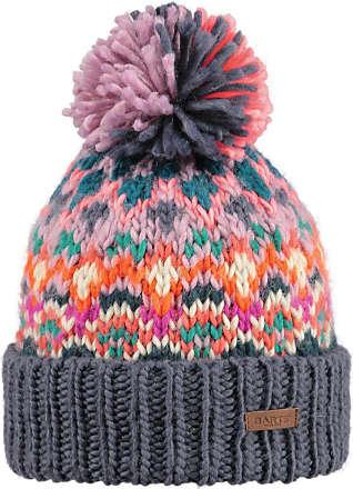 34ac6494592 Barts Ladies Carmen Chunky Acrylic Polyester Winter Beanie Hat Grey