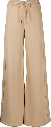 Opening Ceremony flared high-waisted track pants - Neutrals