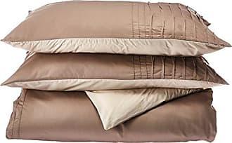 Natori Cotton Sateen Duvet Cover Set King/Neutral
