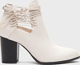 Kelsi Dagger WomenS Wellington White Cutout Bootie 5.5 Boots