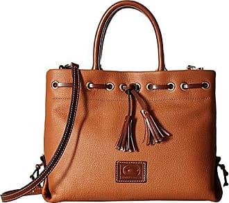 Dooney & Bourke Wakefield Tassel Tote (Desert/Chestnut Trim) Tote Handbags