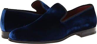 Magnanni Dorio (Blue Velvet) Mens Slip on Shoes